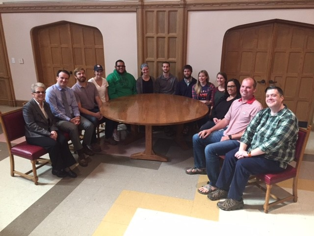 Biblical and Theological Foundations class photo